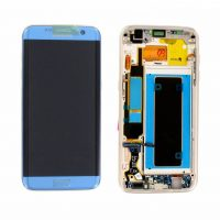 Galaxy S7 Edge (G935F) LCD and Digitizer Touch Screen Assembly (Service Pack) – Blue