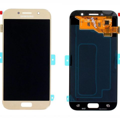Galaxy A5 2017 (A520) LCD and Digitizer Touch Screen Assembly – Gold