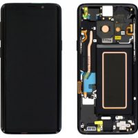 Galaxy S9 (G960F) LCD and Digitiser Touch Screen Assembly (Service Pack) – Black