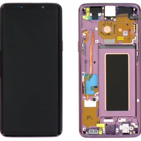 Galaxy S9 (G960F) LCD and Digitiser Touch Screen Assembly (Service Pack) – Lilac Purple