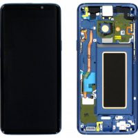 Galaxy S9 (G960F) LCD and Digitiser Touch Screen Assembly (Service Pack) – Coral Blue