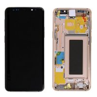 Galaxy S9 (G960F) LCD and Digitiser Touch Screen Assembly (Service Pack) – Gold