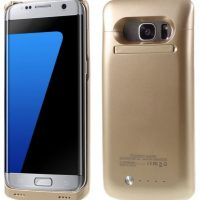 External Power Case for Galaxy S7 -Gold