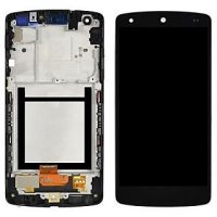 LG Nexus 4 LCD and Digitizer Touch Screen Assembly N/F – Black