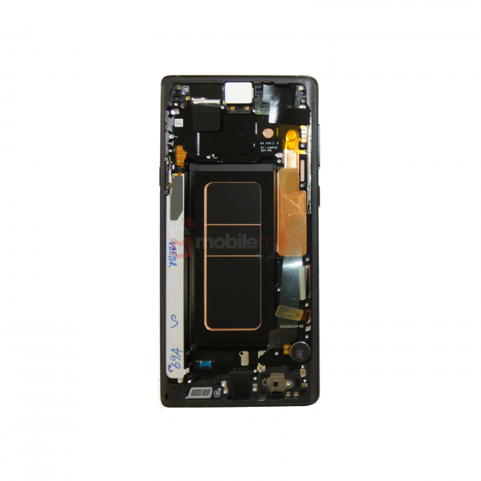 Galaxy Note 9 (N960) LCD and Digitiser Touch Screen Assembly (Service Pack) – Black