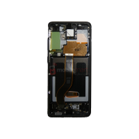 Galaxy S20 Plus G985 / S20 Plus 5G G986 LCD and Digitizer Touch Screen Assembly (Service Pack) Black