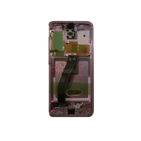 Galaxy S20 G980 / S20 5G G981 LCD and Digitizer Touch Screen Assembly (Service Pack) Pink