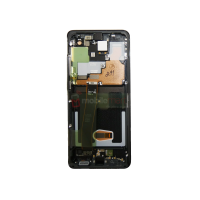 Galaxy S20 Ultra 5G G988 LCD and Digitizer Touch Screen Assembly (Service Pack) Black