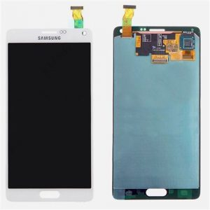 Galaxy Note 4 (N910G) LCD and Digitizer Touch Screen Assembly – White