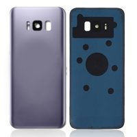 Samsung Galaxy S8 Plus G955 Rear Glass With Camera Lens Orchid Gray