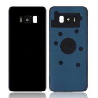 Samsung Galaxy S8 Plus G955 Rear Glass With Camera Lens Midnight Black