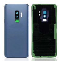 Galaxy S9 Plus (G965F) Rear Glass With Camera Lens – Blue