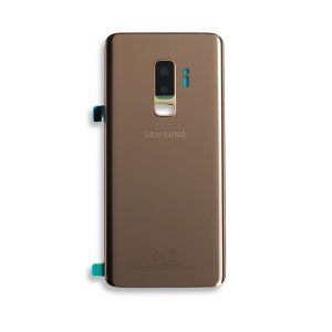 Samsung Galaxy S9 Plus G965 Service Pack Rear Cover Gold