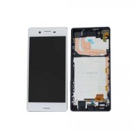 Sony X LCD and Digitizer Touch Screen Assembly (W/F) – White