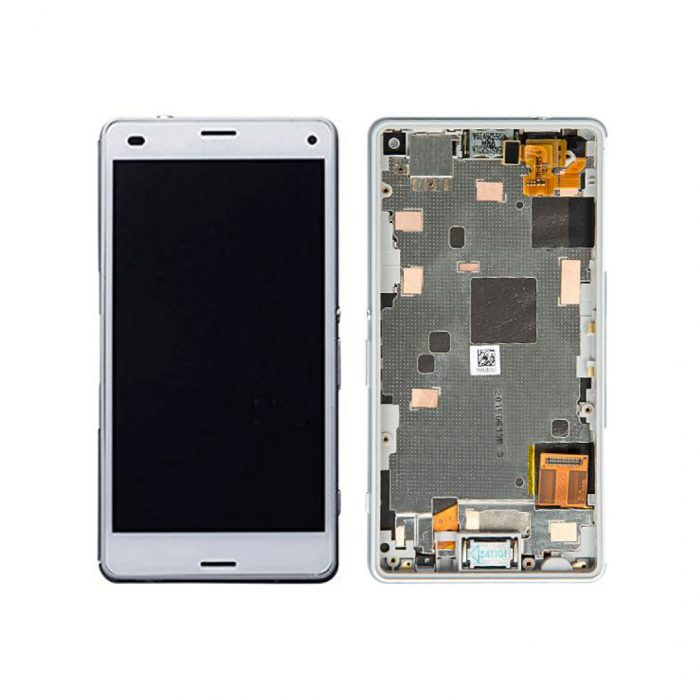 Xperia Z3 Compact LCD and Digitizer Touch Screen Assembly (W/F) – White