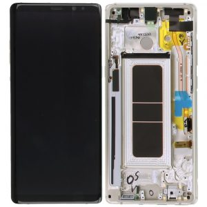 Galaxy Note 8 (N950F) LCD and Digitizer Touch Screen Assembly (Service Pack) – Gold