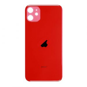 iPhone 11 Rear Glass (Big Hole) – Red