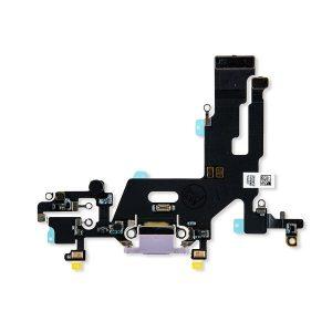 iPhone 11 Charging Port Flex – Purple