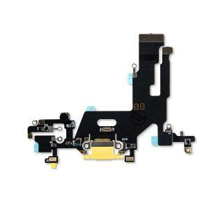 iPhone 11 Charging Port Flex – Yellow