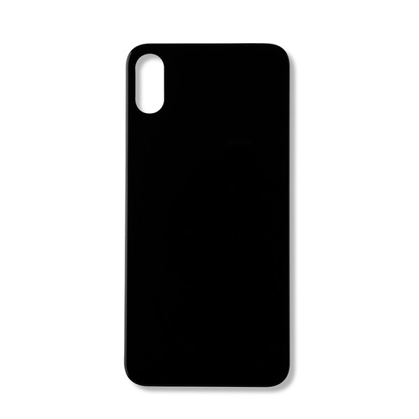 Iphone X rear glass (Big Hole) – Space Grey