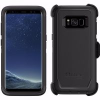 HD Defender Rugged Protection case for Galaxy S8+ – Black